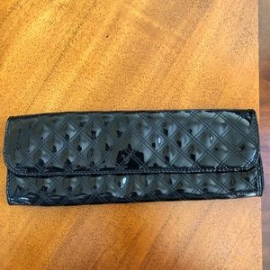 GAP patent quilted clutch